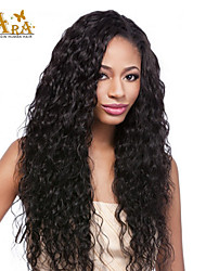 cheap -Human Hair Full Lace Wig Curly Wig Short / Medium Length / Long Human Hair Lace Wig