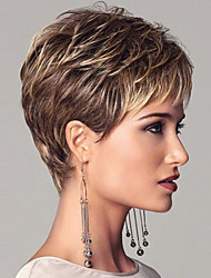 Europe And The United States  Sell Like Hot  Cakes Personality Mix Color Short Wig