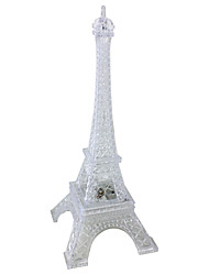 Romantic Colorful Luminescence Eiffel Tower Night Light (3*lr44)