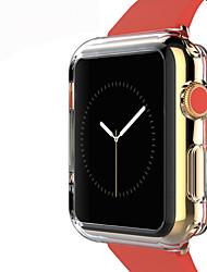 levne -tpu transparentní barva ochranný kryt měkkého pouzdra pro hodinky jablka 3 série 2 1 iwatch (42mm 38mm)