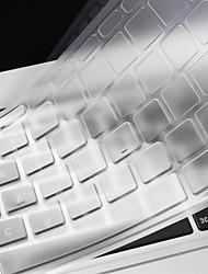 baratos -nova fina pele tampa do teclado TPU claro para macbook retina 12 ''