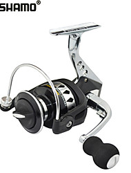 cheap -SHISHAMO Full Metal Body 5.5:1, 12+1 Ball Bearings with One Way Clutch Spinning Reel, Left & Right Hand Exchangble
