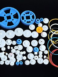 80 Kinds of Plastic Gear Motor Gear Gearbox Package Robot Accessories Kit