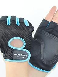 Спортивные перчатки Перчатки для велосипедистов Пригодно для носки Дышащий Износостойкий Тактический Без пальцев Нейлон Велосипедный