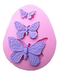 sommerfugl kage skimmel håndlavet silikone bagning værktøjer dekorationer til kager fondant chokolade skimmel sm-042