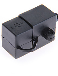 moto manubrio accendisigari caricatore doppio usb per 5v smartphone