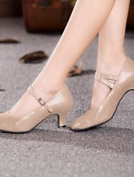 Women's Dance Shoes Modern Suede Cuban Heel More Colors