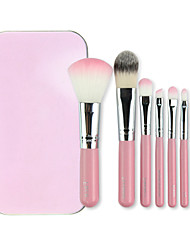 cheap -7pcs Professional Makeup Brushes Makeup Brush Set Nylon Travel / Eco-friendly / Professional Eye / Face / Lip Middle Brush / Small Brush