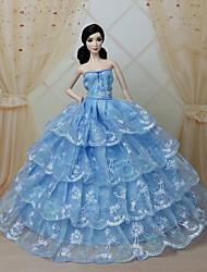 パーティー/イブニング ドレス ために バービー人形 ドレス ために 女の子の 人形玩具