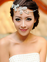 Недорогие -смола головная цепь головной убор свадебная вечеринка элегантный женственный стиль
