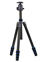 cheap -Carbon Fibre 415mm 4 sections Digital Camera Tripod