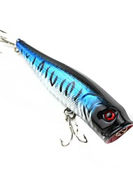Hard Bait / Fishing Lures Fishing-1 pcs Black / Silver / phantom Plastic-N/A Sea Fishing / Lure Fishing / General Fishing