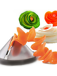 Kitchen Gadgets Creative Vegetable Spiral Slicer / Carrot Spiralizer Vegetable Cutter(Random Color)