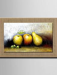 pinturas a óleo, um painel moderno abstrato ainda pintados à mão vida fruta linho natural pronto para pendurar