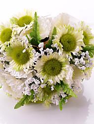 lindas flores de casamento brincos redondos acessórios de casamento