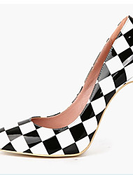 cheap -Women's Shoes Patent Leather Spring / Summer Stiletto Heel Black / Wedding / Party & Evening / Dress / Party & Evening