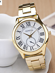 Lady'S Quartz Swiss Alloy Watch Men And Women Fashion Baotou Steel Band Watch Cool Watches Unique Watches