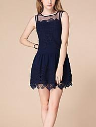 cheap -Women's Chic & Modern Dress - Lace Fashion Sexy, Modern Style