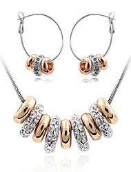 moderne djevojke ženske modne slatka slatka nakit odijela (ogrlica i nausnice)