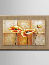 pinturas a óleo, um painel flores abstratas modernas linho natural pronto para pendurar pintado à mão
