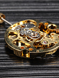 Недорогие -золото руководство механические часы движение