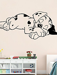 wall stickers wall decals stil soporous hund pvc wall stickers