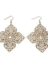 четыре листа цветок серьги свадебная вечеринка элегантный женственный стиль