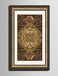 Fantasia Tele con cornice / Set con cornice Wall Art,PVC Oro Passepartout incluso con cornice Wall Art