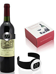 Creative Design Measure Red Wine Automatically Temperature Wine Thermometer