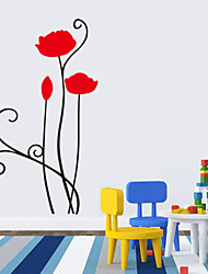 cheap -Wall Stickers Wall Decals Style Monotonous Beauty PVC Wall Stickers