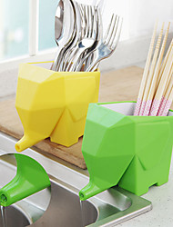 Jumbo The Elephant Cutlery Holder  Toothbrush Holder (Random Color)