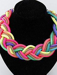 cheap -Women's Choker Necklace - Fashion Handmade Screen Color Necklace Jewelry For Special Occasion, Birthday, Gift