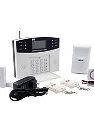 cheap -Security Burglar Alarm Systems With 8 Wired And 99 Wireless Zones