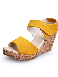 Yellow Wedges Shoes - Lightinthebox.com