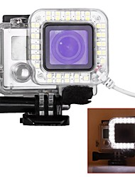 cheap -Protective Case Spot Light LED USB LED For Action Camera Gopro 6 Gopro 5 Gopro 4 Silver Gopro 4 Gopro 4 Black Gopro 3 Gopro 3+ Gopro 3/2/1
