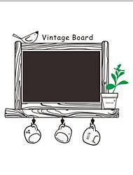 Quadro-negro Adesivos de Parede Autocolantes de Aviões para Parede Autocolantes de Parede Decorativos,Vinil Decoração para casa Decalque