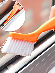 cheap -Window Track Cleaning Brush with Small Shovel designed Home(Random Color)