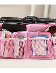 cheap -Travel Bag Travel Kit Travel Toiletry Bag Cosmetic Bag Insert Organizer Handbag Travel Luggage Organizer / Packing Organizer Waterproof