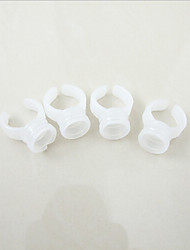 100pcs/lot Permanent Makeup Plastic Ink Cup Ring Ink Holder For Tattoo Eyebrow Eyeliner Lip Cosmetic Kit Supply