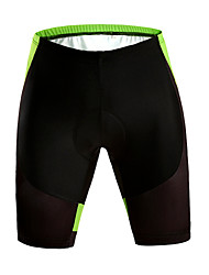 cheap -WOSAWE Cycling Padded Shorts Unisex Bike Shorts Padded Shorts/Chamois Bottoms Bike Wear Quick Dry Breathable Limits Bacteria Reduces