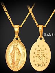 abordables -Collares con colgantes Chapado en Plata Chapado en Oro Legierung Collares con colgantes , Boda Fiesta Diario Casual Deportes