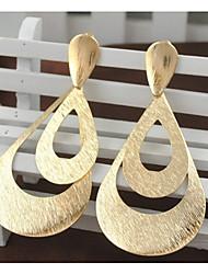 abordables -Femme Plaqué or Boucles d'oreille goutte - Large Mode Or Écran couleur Irrégulier Des boucles d'oreilles Pour