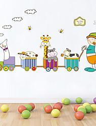 baratos -adesivos de parede adesivos de parede do estilo dos desenhos animados de protecção ambiental de parede adesivos pvc
