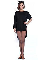 abordables -Danse latine Robes Femme Entraînement / Utilisation Chinlon Robe / Jazz / Spectacle / Salle de bal / Samba