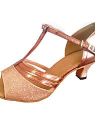 Женская обувь - Искусственная кожа/Мерцающая отделка Разноцветный) - Латино/Современный танец/Сальса/Обувь для стандартной программы