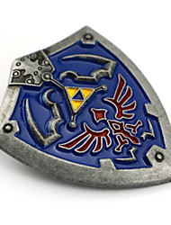 economico -Gioielli Ispirato da The Legend of Zelda Cosplay Anime/Videogiochi Accessori Cosplay Distintivo / Spille Blu Lega Uomo