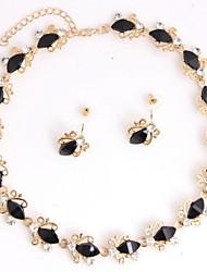 economico -Per donna Set di gioielli Matrimonio Feste Occasioni speciali Compleanno Fidanzamento Quotidiano Perla Placcato in oro Lega Orecchini