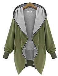 cheap -Women's Fashion Daily Active Coat Long Sleeve All Seasons