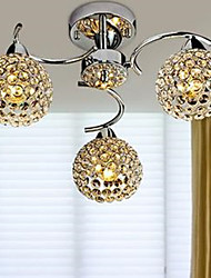 cheap -Chandelier Uplight - Crystal LED, Globe Modern / Contemporary, 110-120V 220-240V, White, Bulb Included