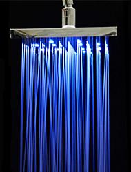 Недорогие -Современный Дождевая лейка Хром Особенность for  Светодиодная лампа Дождевая лейка Экологически чистый , Душевая головка